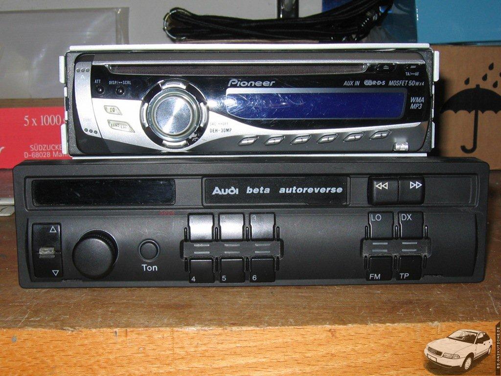 b5.gaskutsche.de – Ein handelsübliches Radio im Audi A4 (B5) verbauen