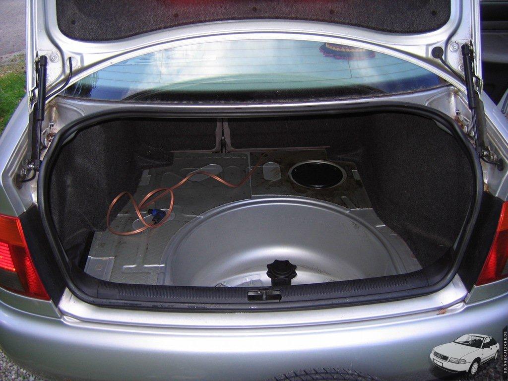 B5gaskutschede Gastank Im Audi A4 B5