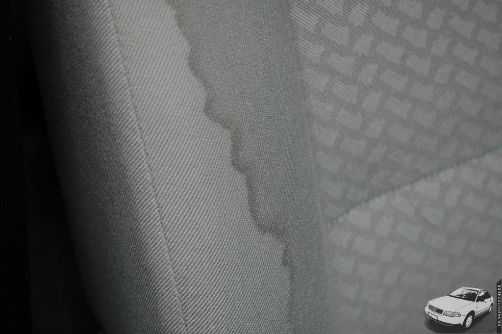 Top Blutflecken auf Textilbezug - wie entfernen? Meine Lösung EV22